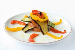 Légumes rôtis Photo stock