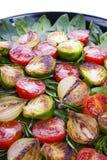 Légumes rôtis images stock