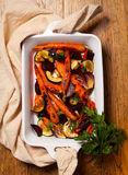 Légumes rôtis Photographie stock libre de droits