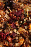 Légumes rôtis, vue de plan rapproché Image stock