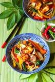 légumes Remuer-frits Photos libres de droits