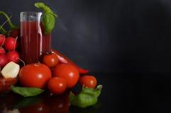 Légumes rouges sains photos libres de droits