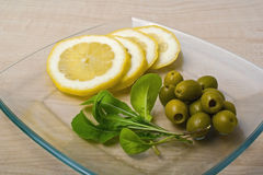 Légumes sur la table Images stock
