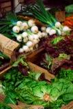 Légumes sur le marché Image libre de droits