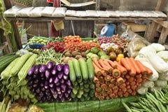 Légumes sur le marché Images stock