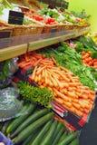 Légumes sur un marché Photographie stock libre de droits