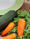 Légumes sur une table Photo libre de droits