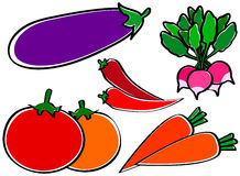 Légumes utiles illustration stock