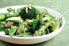 Légumes verts Photos libres de droits