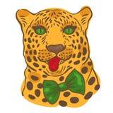 001 léopard 01 illustration stock
