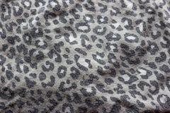 léopard de style de tissu Images libres de droits