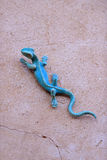 Lézard de fer Photo stock