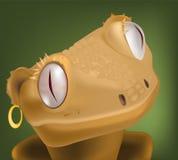 Lézard des films de dessin animé des enfants Image libre de droits