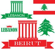 Líbano Imagens de Stock