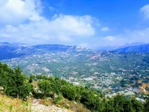 Líbano Mountain View Imagem de Stock Royalty Free