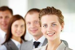 Líder bem sucedido Fotografia de Stock