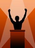 Líder bem sucedido Fotos de Stock Royalty Free