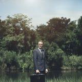 Líder Concept de Environment Formal Professional del hombre de negocios Imágenes de archivo libres de regalías