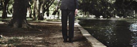 Líder Concept de Environment Formal Professional del hombre de negocios Fotos de archivo