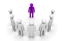 Líder Concept do grupo Imagens de Stock Royalty Free