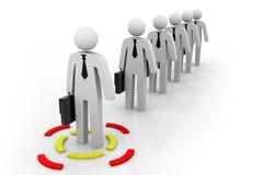 Líder Concept do grupo Fotografia de Stock