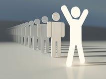 Líder da equipa Imagem de Stock