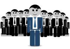 Líder da equipa Imagens de Stock