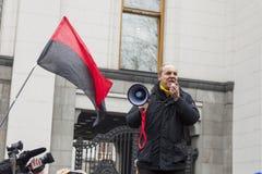 Líder de Andrey Paruby del movimiento de liberación nacional imagen de archivo