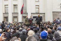 Líder de Andrey Paruby do movimento de libertação nacional Imagem de Stock Royalty Free