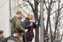 Líder de Andrey Paruby do movimento de libertação nacional Foto de Stock Royalty Free