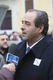 Líder de Di Pietro do dei Valori de Italia fotos de stock royalty free