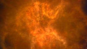 Líder de la película de la explosión del fuego ilustración del vector