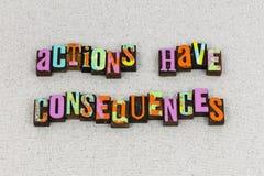 Líder de los objetivos de la dirección de las consecuencias de las acciones fotos de archivo libres de regalías