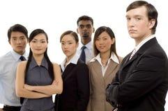 Líder de negócio 1 do grupo Imagens de Stock Royalty Free