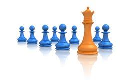 Líder de negócio Foto de Stock Royalty Free