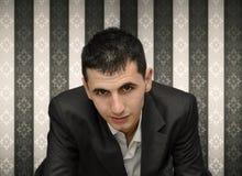 Líder de negócio bem sucedido Foto de Stock