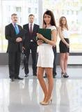 Líder de negócio fêmea imagem de stock royalty free