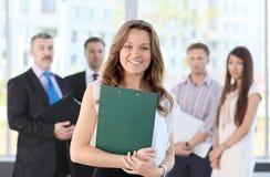 Líder de negócio fêmea imagens de stock royalty free