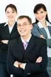 Líder de negócio forte Imagens de Stock