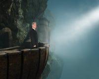 Líder de negócio, liderança, objetivos, sucesso Fotos de Stock