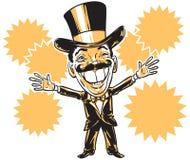 Líder de um grupo criminoso/apresentador Imagens de Stock Royalty Free