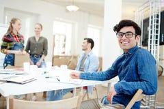 Líder del equipo de diseño Foto de archivo