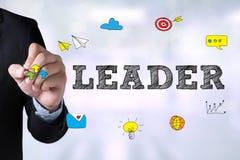 LÍDER (diretor de Leadership Manager Management do líder) Fotografia de Stock