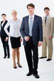 Líder do homem de negócios Fotografia de Stock Royalty Free