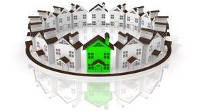 Líder dos bens imobiliários Imagens de Stock