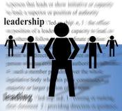 Líder e seguidores Imagens de Stock Royalty Free