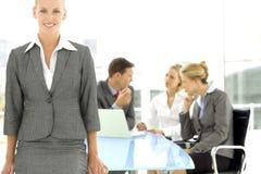 Líder executivo da mulher Imagens de Stock