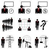 Líder inteligente - boa sorte Fotos de Stock Royalty Free