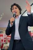 Líder Justin Trudeau del partido liberal imagen de archivo