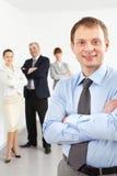 Líder masculino fotografia de stock royalty free